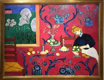 La desserte, Henri Matisse, 1908, Musée de l'Ermitage, Saint-Pétersbourg