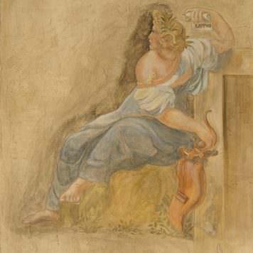 Sappho - Dim. 130 x 80 cm